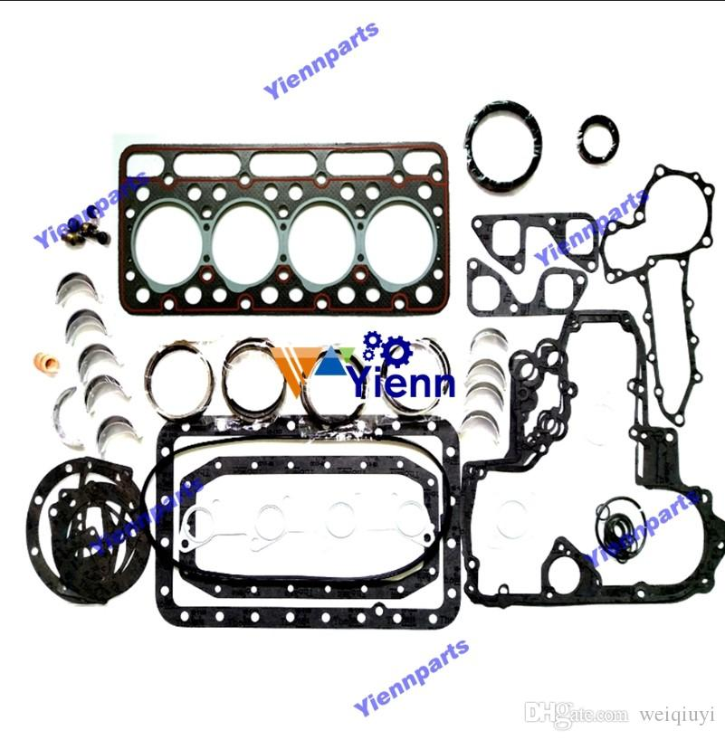 V1702 overhaul rebuild kit for Kubota excavator loader tractor forklift etc  diesel engine kit repair parts