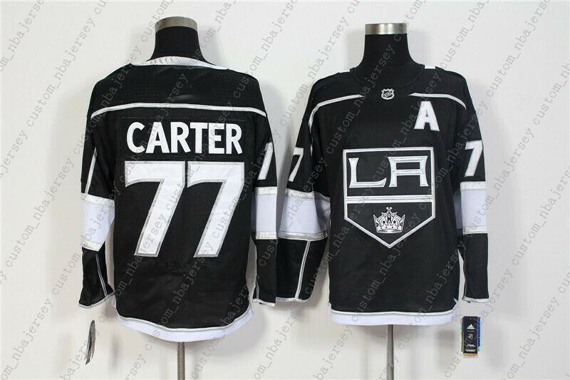 0599f6eca 2019 Cheap Custom New AD Men S Los Angeles Kings 77 Jeff Carter ...