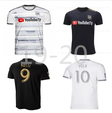 newest 82542 b8ca1 NEW 2019 LAFC Carlos Vela Soccer Jersey 19 20 ZELAYA GABER ROSSI CIMAN  ZIMMERMAN Parley Los Angeles fc Adult and Kids Football kit Shirt
