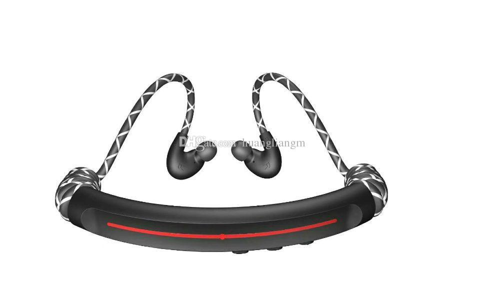 Headphone BS-137 Wireless Stereo Headset Sports Bluetooth Speaker Neckband Earphone Bluetooth 5.0 With Retail Package 10 Pieces DHL