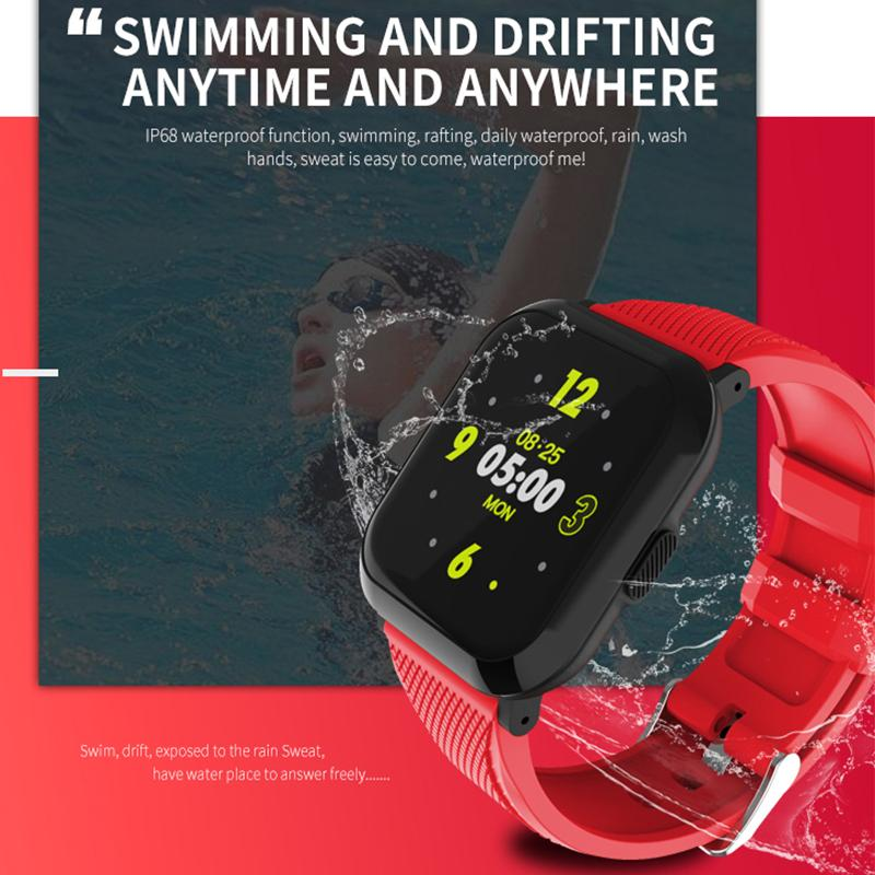Waterproof smart wristband remote control smart band message reminder watch men women bracelet 2019 new pk amazfit fit bit