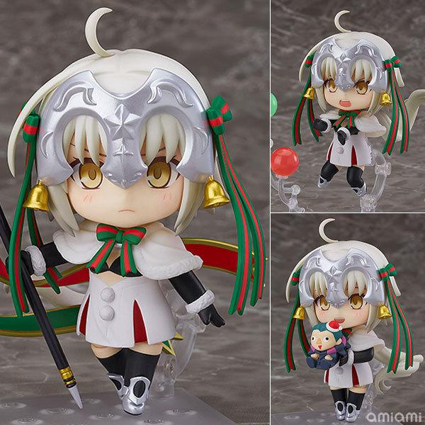 NEW hot 10cm Jeanne d Arc Joan of Arc Fate/Grand Order FATE FGO Action  figure toys doll Christmas gift with box