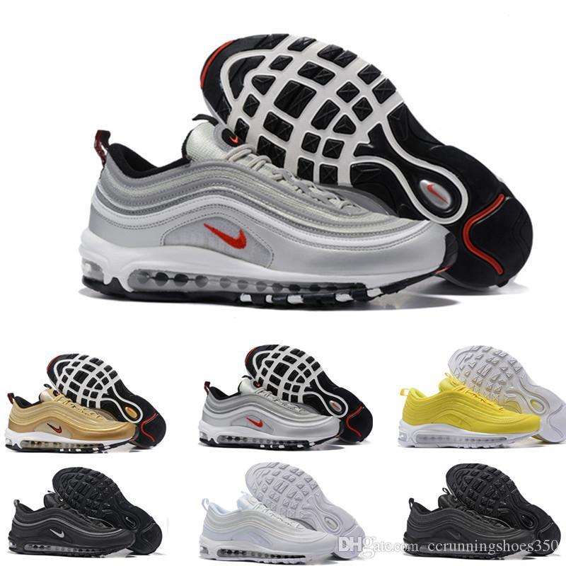 big sale 5c428 0208e nike air max 97 airmax 2019 Air OG X Undftd Negro Blanco Velocidad Hombres  zapatillas ultra sean Zapato deportivo TN Bullet Undftds invicto de Maxes  ...