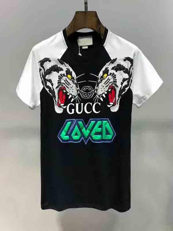LOGO New Mens Summer Tees Plus Size Short Sleeve T Shirt Letter Printed Cotton T-shirt 3D Designer Clothing M-XXL Golf Tshirt