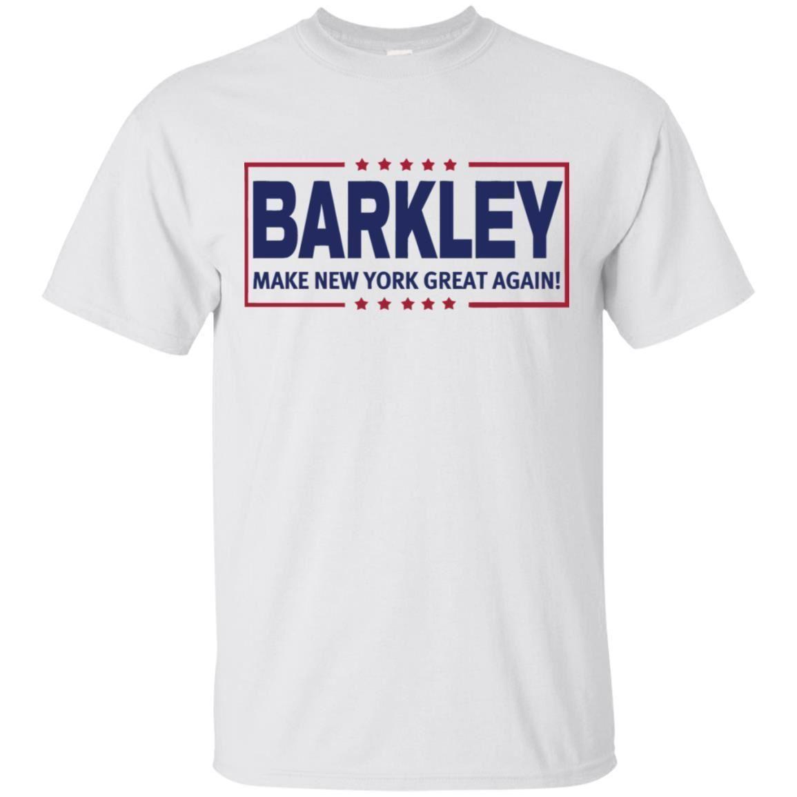 best service 12ecf 283fb Saquon Barkley T-shirt Barkley Make New York Great Agian Men's Tee S-5XL  Fashion Casual Cotton Short-Sleeve Funny Casual O-Neck