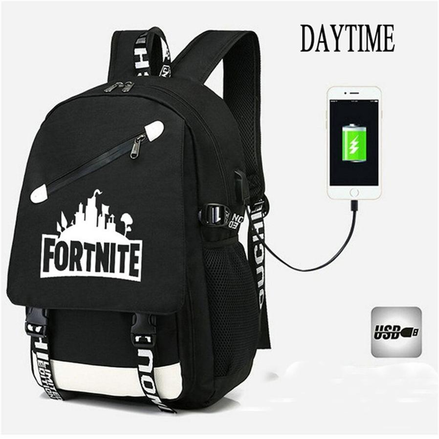 dd82b78efd181 Fortnite Backpack 3d Printing Luminous School Bags Fortnight Childrens Bags Fortnite  Kids Bags Girls Shoulders Bag Boys Book Bag 0f68 Side Bags Kids ...