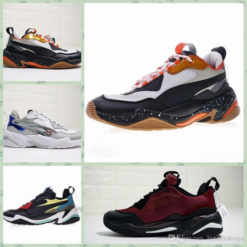 Triples Papa Casual Vieux Baskets Chaussures Pink Sneakers Thunderss Desert Spectra 2018 Puma Hommes Femmes Thunder Designer OwnkXN0P8