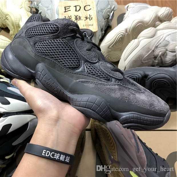 Acheter 2019 Top Qualité Hommes Chaussures Nouvelles Couleurs 700 Mauve 500  Salt Moon Blush Utilitaire Noir Hommes Femmes Casual 500 Chaussures Pour  Hommes