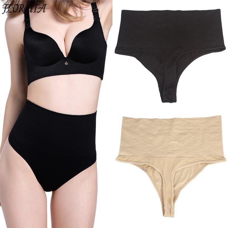 6450277e9ddbe 2019 New Seamless Body Shaper Panty Thong High Waist Slimming Butt Lifter  Panties Cincher Shapewear Tummy Control Girdle Underwear From Quhai