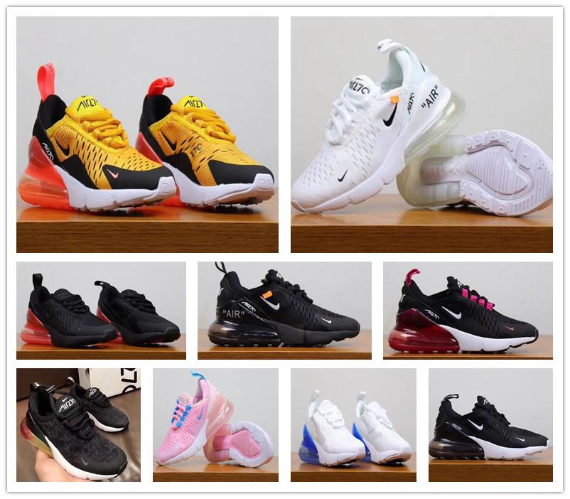 9dcce6df5d Nike Air MaX 270 Youth Running Shoes Kid Sneakers Off Air 27c Run ...