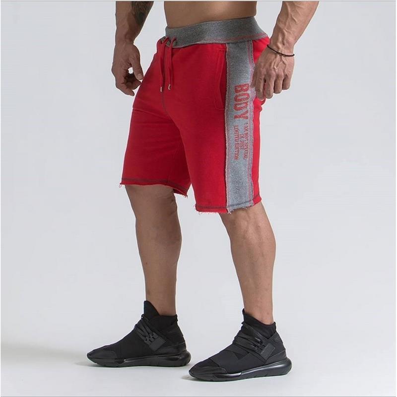 Compre 2018 De Alta Qualidade Calções Homens Marca Ginásio De Fitness Shorts  De Corrida Mens Profissional Musculação Formação Esporte Curto De  Xuelianguo da7d2d020c3a6