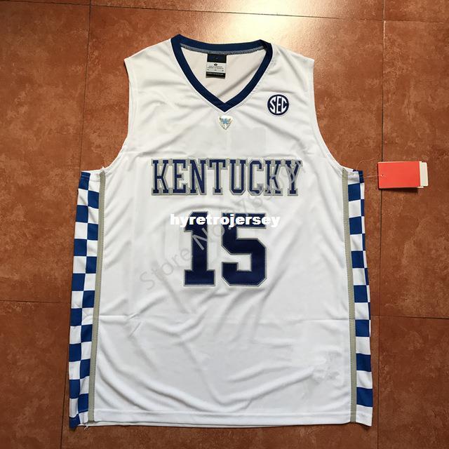 91933868a New  15 DeMarcus Cousins Kentucky Wildcats Top College Basketball ...