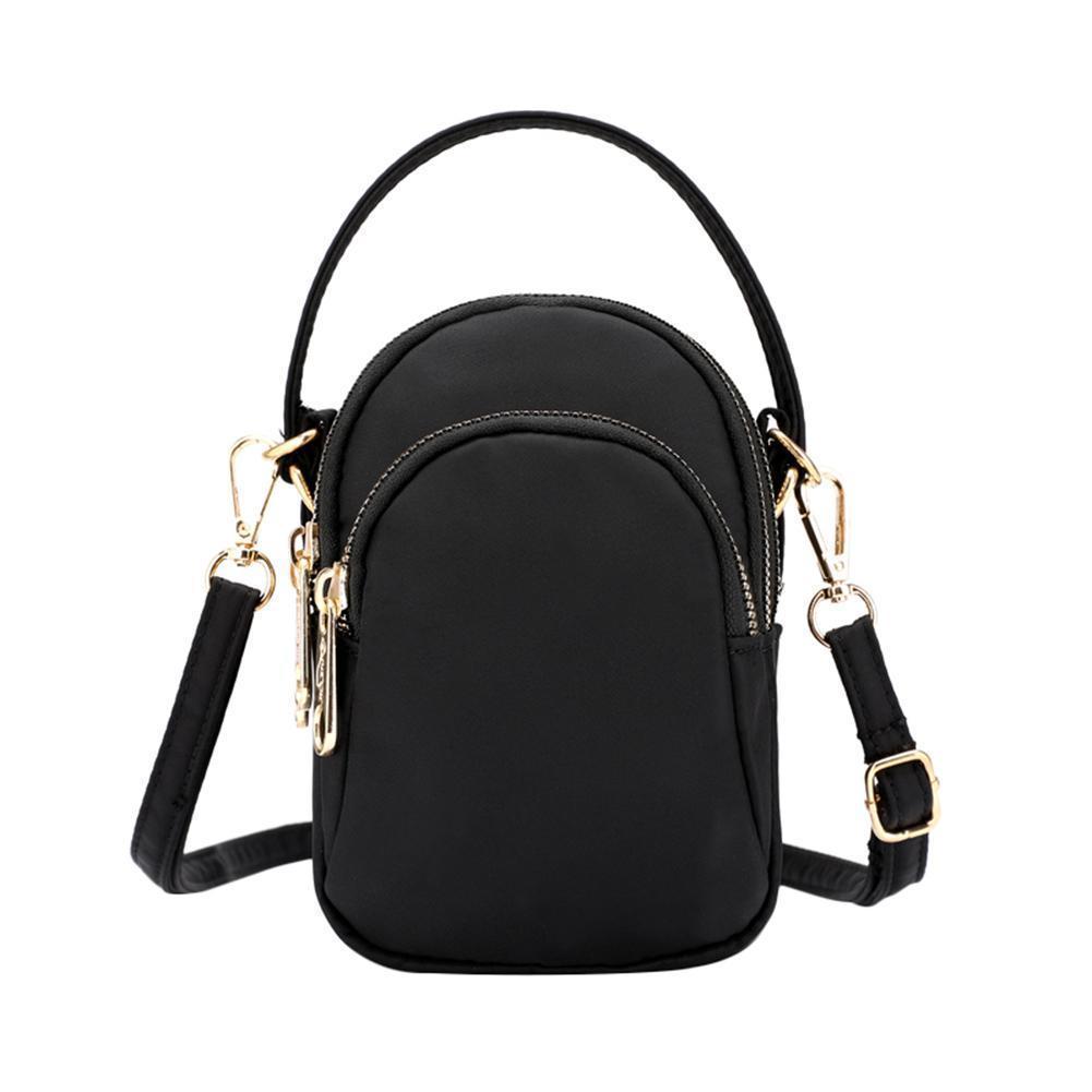 9e9c6ba4ad6c Mini Shoulder Messenger Crossbody Bag Multi-pocket Versatile Portable  Equipment Travel Bags Storage Tote Handbag For Women Bag