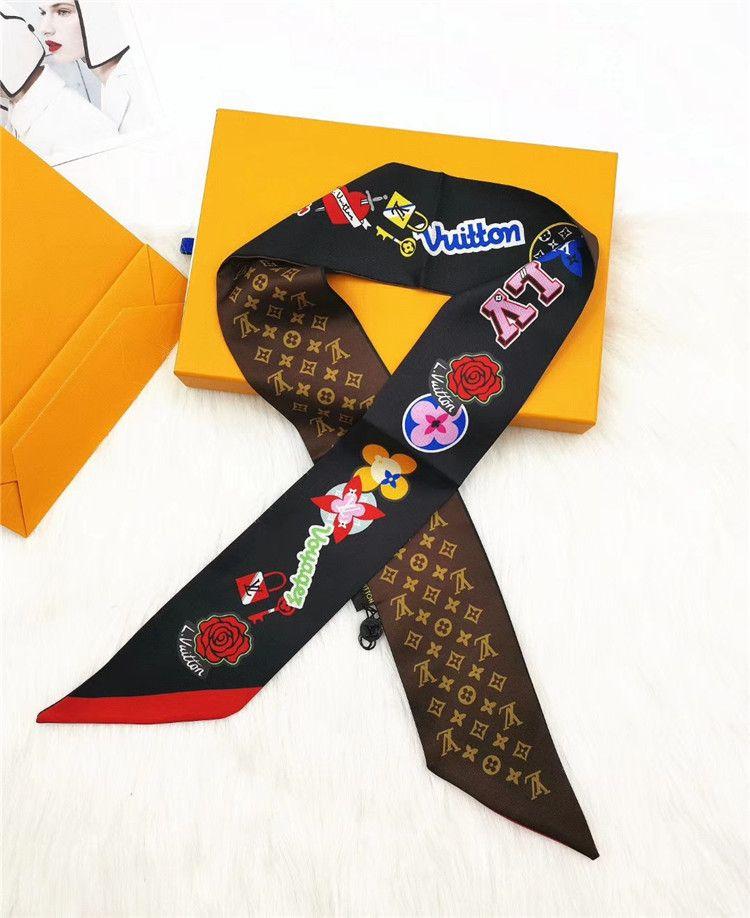 2018 Frauen Schal Fashion Solid Chiffon Wrap Schal Retro Weibliche Mehrzweck Schal Schal Weiche Lange Schal 50*180 Bekleidung Zubehör