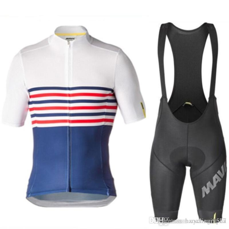 UCI Tour de France Mavic Cycling Jersey /Road Bike Wear Racing Clothes Quick Dry Men's Cool Breathable Bicycle Set Ropa Ciclismo Maillo