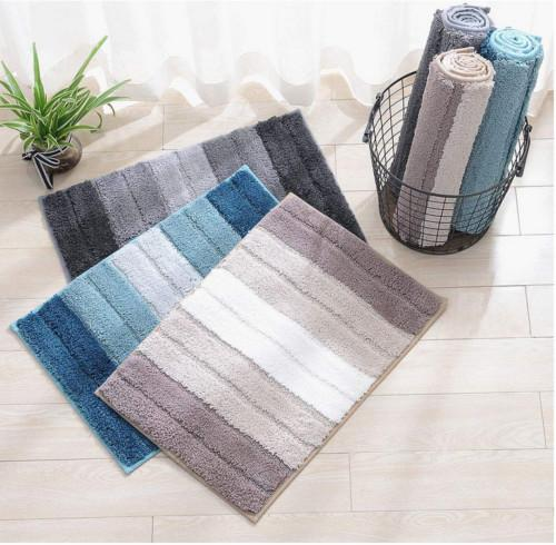 Square AntiSlip Barrier Floor Mat Heavy Duty Blue Kitchen Indoor Outdoor 50*80cm Non-slip Rug
