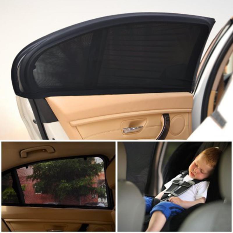 Window Sun Shade Mesh Cover Baby Child Uv Protector Shield Car