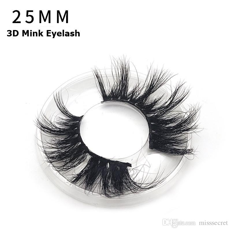 ce98a546286 2019 25mm 3d Mink Eyelashes Dramatic 5d Mink Eyelash Soft Long ...