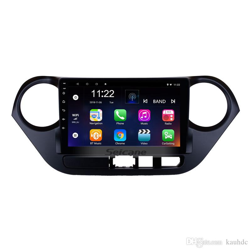 Hot Selling Android 8 1 8-core 9 Inch Car GPS Navigation Radio for  2013-2016 HYUNDAI I10 with Bluetooth Music AUX support OBD2 Mirror Link
