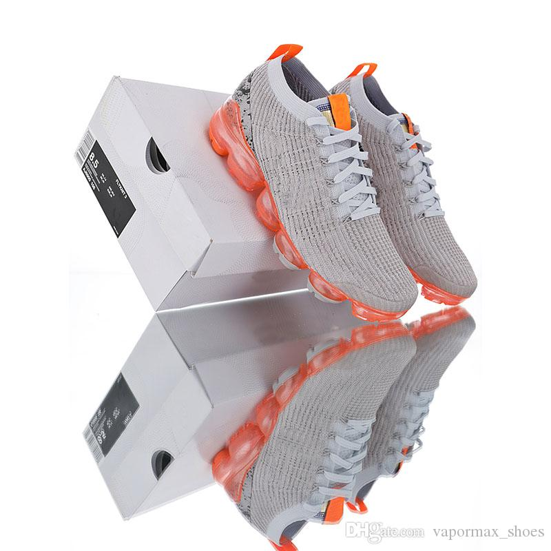a6eef984b417 2019 Summer Shoes Fly 3.0 Running Shoes For Men Women Black White Red Blue  Pink Gray Mens Sale Cheap Running Shoes From Vapormax shoes