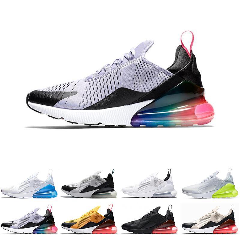 pretty nice ab6e2 27102 2019 hohe Nike Air Max 270 27C Teal Outdoor-Schuhe 2 Sterne Männer AIR  Flair Triple Black 27C Trainer Sportschuh 27C Sneakers 40-45