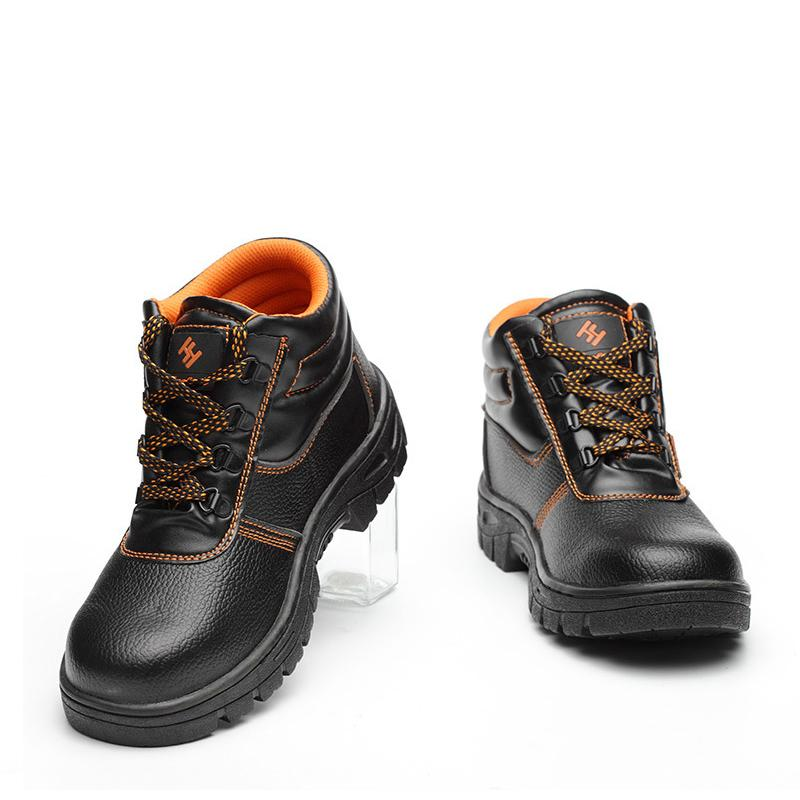 8b0a8722240 Men Boots Combat Men s High Top Steel Toe Cap Anti Smashing Work Boots  Shoes Men Iron Nose Anti-puncture Safety Shoes
