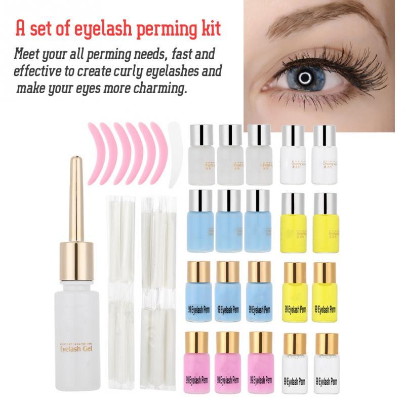 Natural Curling Eyelashes Perm Kit Eye Lashes Curling Makeup Tools lashes lifting Lift extension permSet
