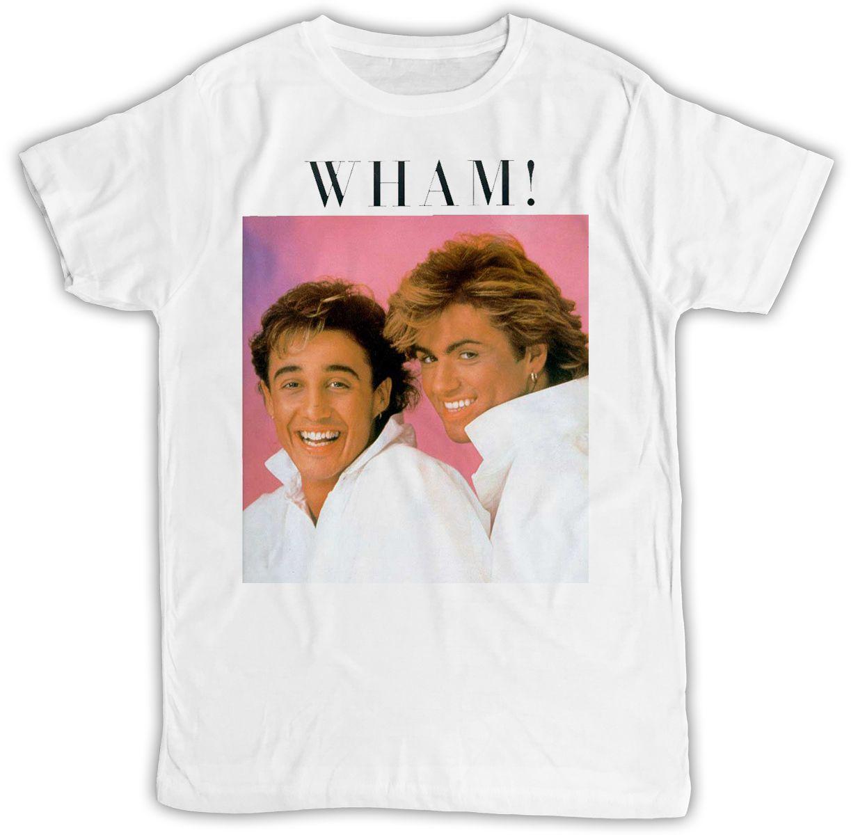 6d33d4d0 GEORGE MICHAEL WHAM POSTER IDEAL GIFT BIRTHDAY PRESENT COOL RETRO T SHIRT  Cool T Shirts Designs Make T Shirts Online From Emisaputr, $10.8| DHgate.Com