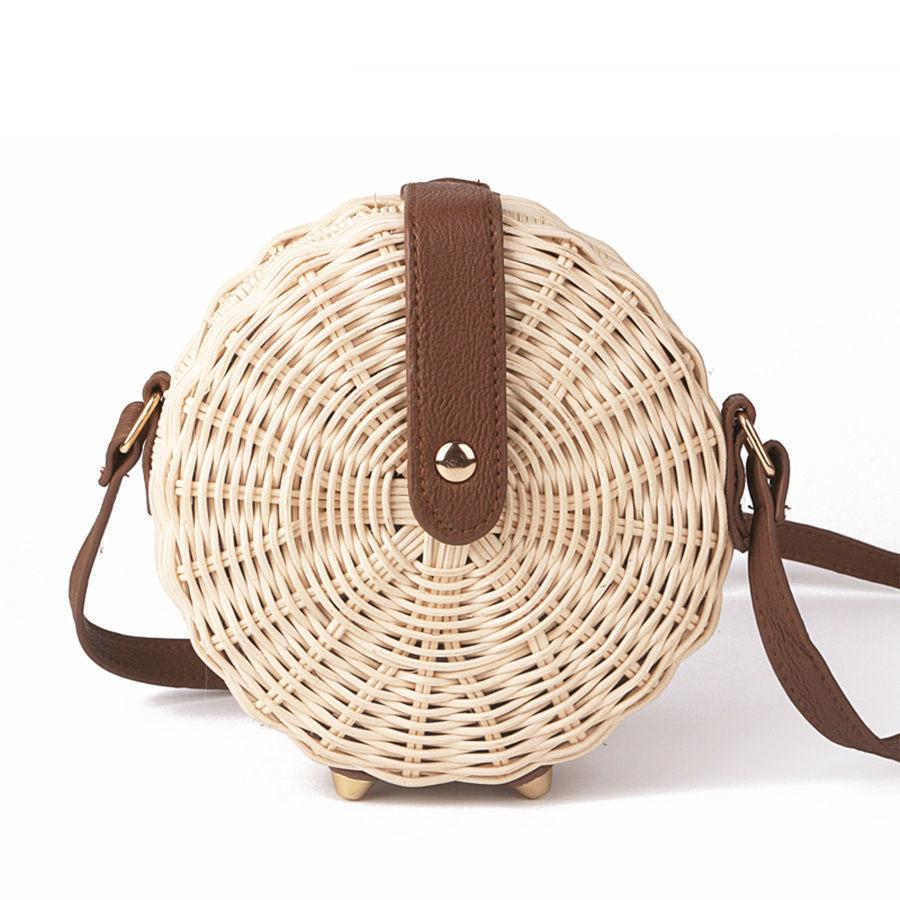 58048a688b Summer Handmade Straw Bag Bohemian Rattan Kintted Women Handbag 2019  Fashion Bali Beach Bag Lady Vintage Crossbody Shoulder Bags Handbags For Women  Mens ...