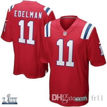 Tom Brady Jersey Super Bowl LIII New England Rob Gronkowski Patriots Julian  Edelman Custom American Football Jerseys Soccer Rugby Shirts 4xl Tom Brady  ... 9b58dccdf