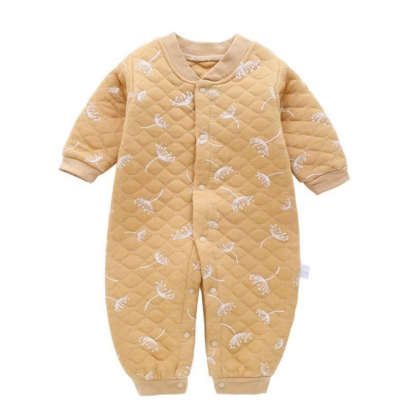 34598eeac629 Good Qulaity 2018 New Baby Warm Rompers Infant Cotton Sleepwear Clothing  Toddler Jumpsuit Cartoon Spring Autumn Pajamas Outfits Online with   35.02 Piece on ...