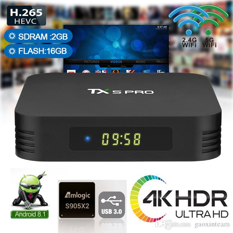 x96 max tv box 4gb 32gb android 8 1 s905x2 with qhdtv 1 year code