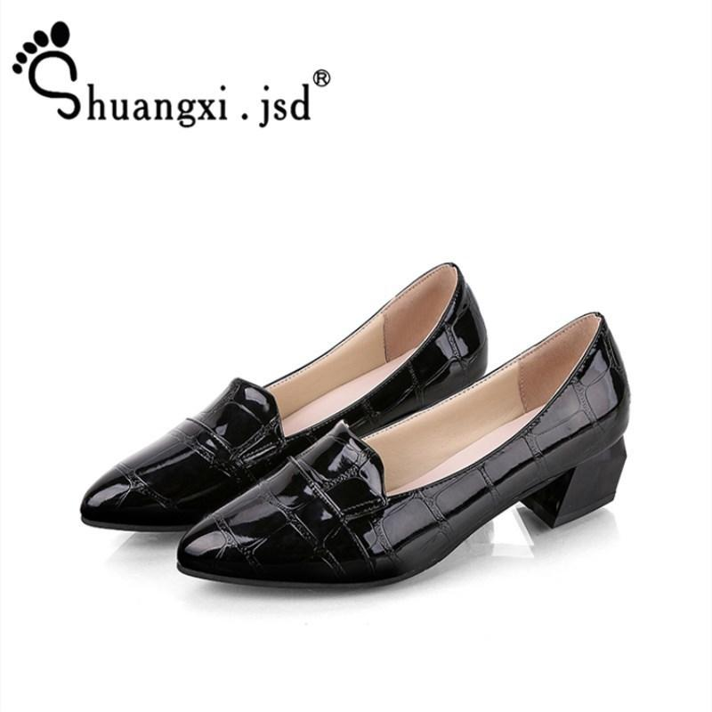 18b9d0bf6a0f Jsd 2019 Summer New Pumps Women White High Heel Work Black Heels 4cm  Elegant Woman Shoe 35 39 Zapatos Mujer Bass Shoes Skechers Shoes From  Deal44