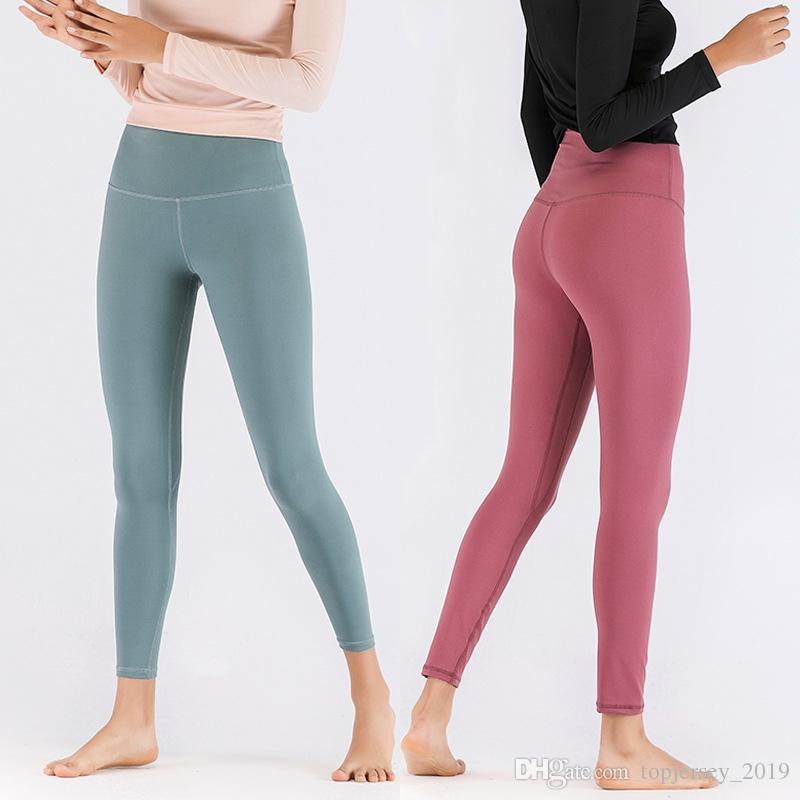 03908b8878de1 2019 Women Fitness Leggings High Waist Yoga Pants Seamless Gym Tight  Leggins Sport Leggings Push Up Female Stretch Sport Running Pant #197974  From ...