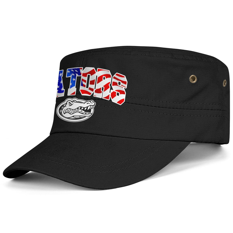 30001a2774ca Florida Gators fútbol EE. UU. Bandera de la bandera Negro Hombres Mujeres  Militar Personalizado Gorra de cadete Gorra del ejército Sombrero táctico  ...