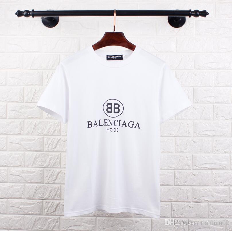 9d33991c10 Compre 2018 Marca De Verano De Manga Corta Camisetas De Calidad Superior  100% Algodón Casual Monroe Tees Hombres Mujeres Amantes Camisetas Club Tops  ...