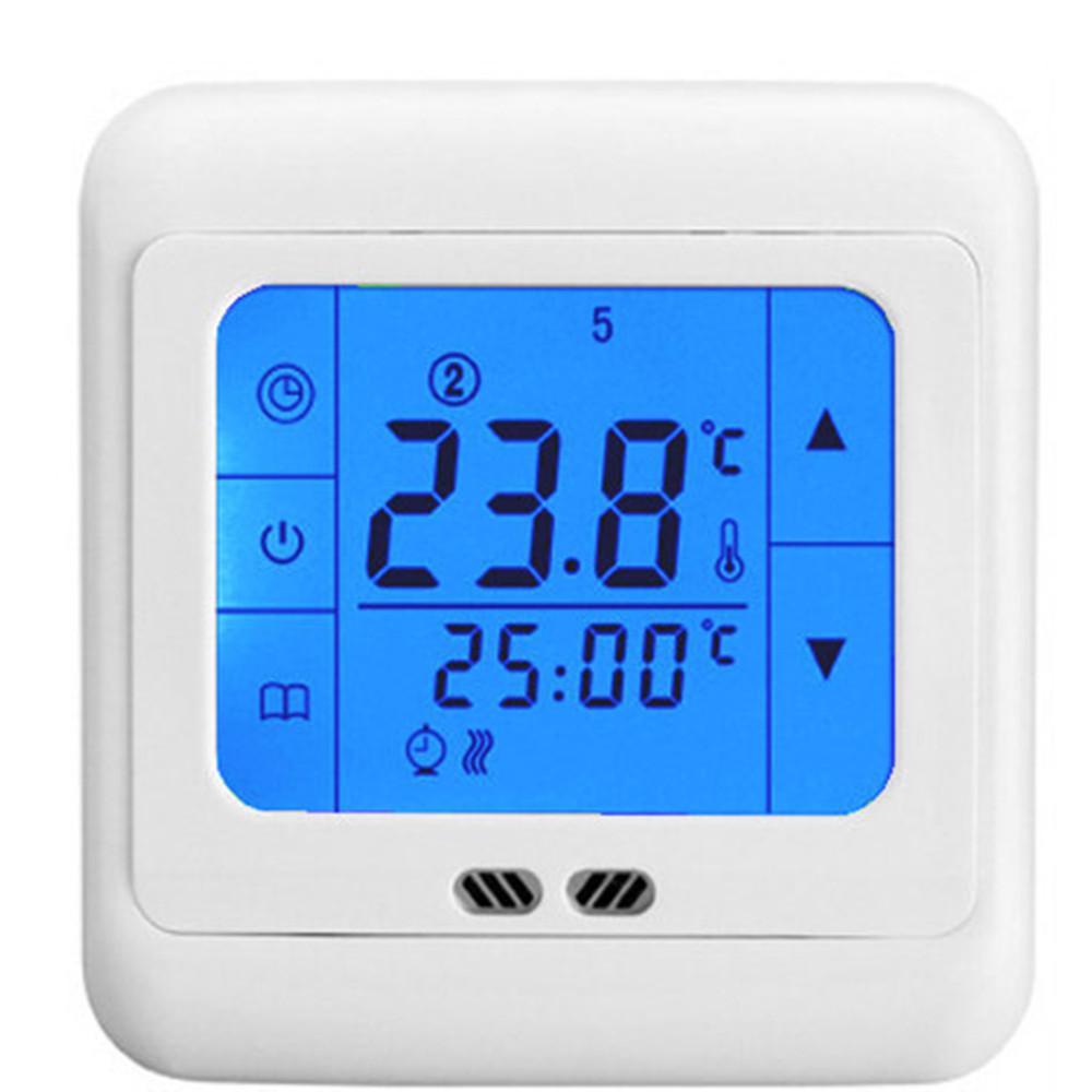 Großhandel 24v Ac Touch Programmierung Heizung Temperatur