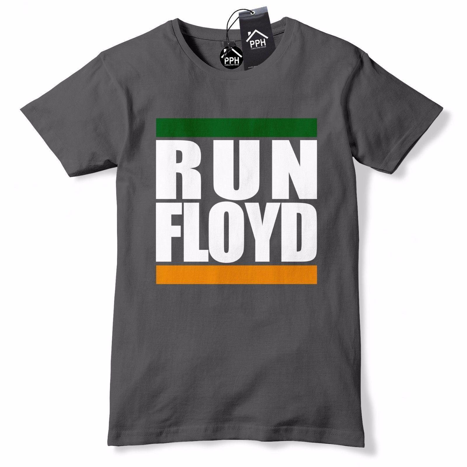 6eb3cd98 Funny Run Floyd Conor McGregor T Shirt Boxing UFC MMA Vegas Fight Tee Top  664 O-neck Fashion Printed Round Neck man's
