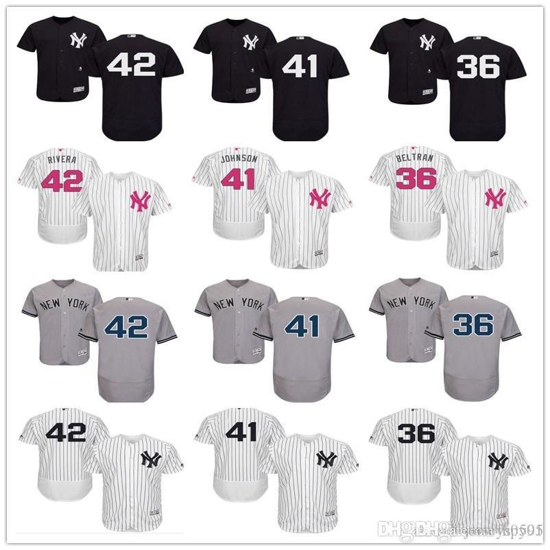 86a18e4f783 2018 Custom Men s Women Youth Majestic NY New York Yankees Jersey ...