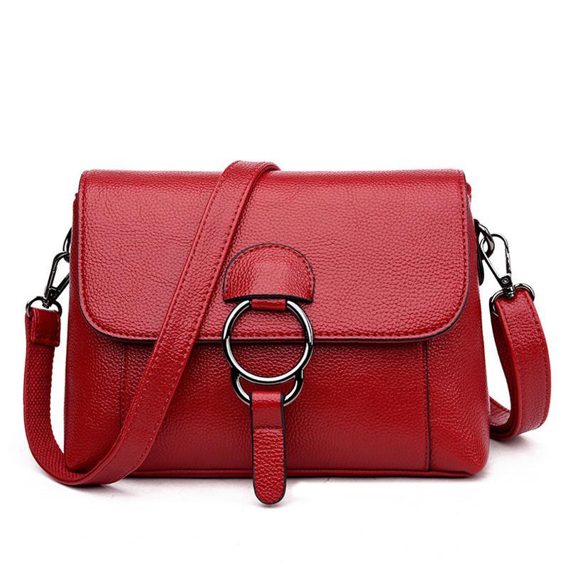 37ce8d5a1ddb Flap Shoulder Bag Women Messenger Bags Designer Crossbody Bags for Women  Leather Handbags Fashion Small Day Clutches Sac A Main De Marque