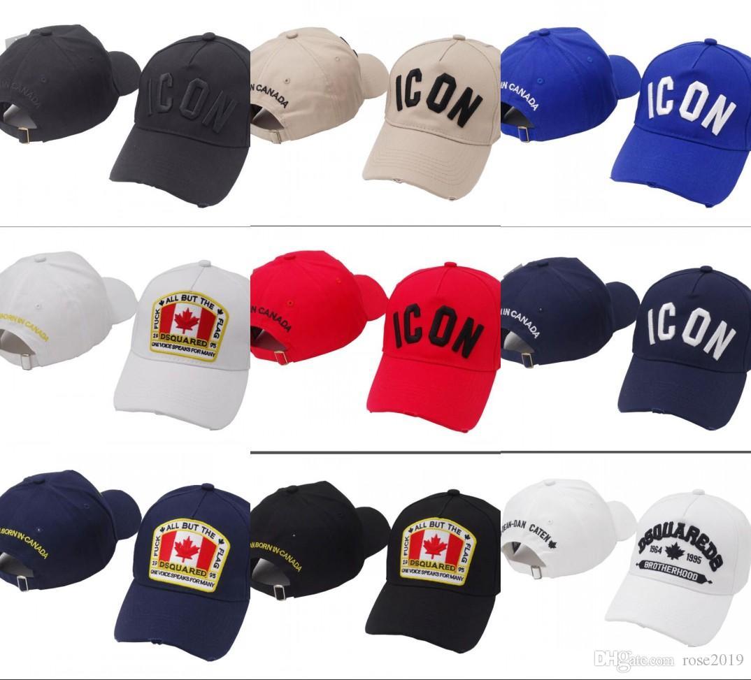 b2a6134e43909 2019 New Luxury Icon Embroidery Hats   Caps Men Women Brand Designer  Snapback Cap for Men Baseball Hat Golf Gorras Bone Casquette D2 Hat Icon Hat  D2 Hat ...