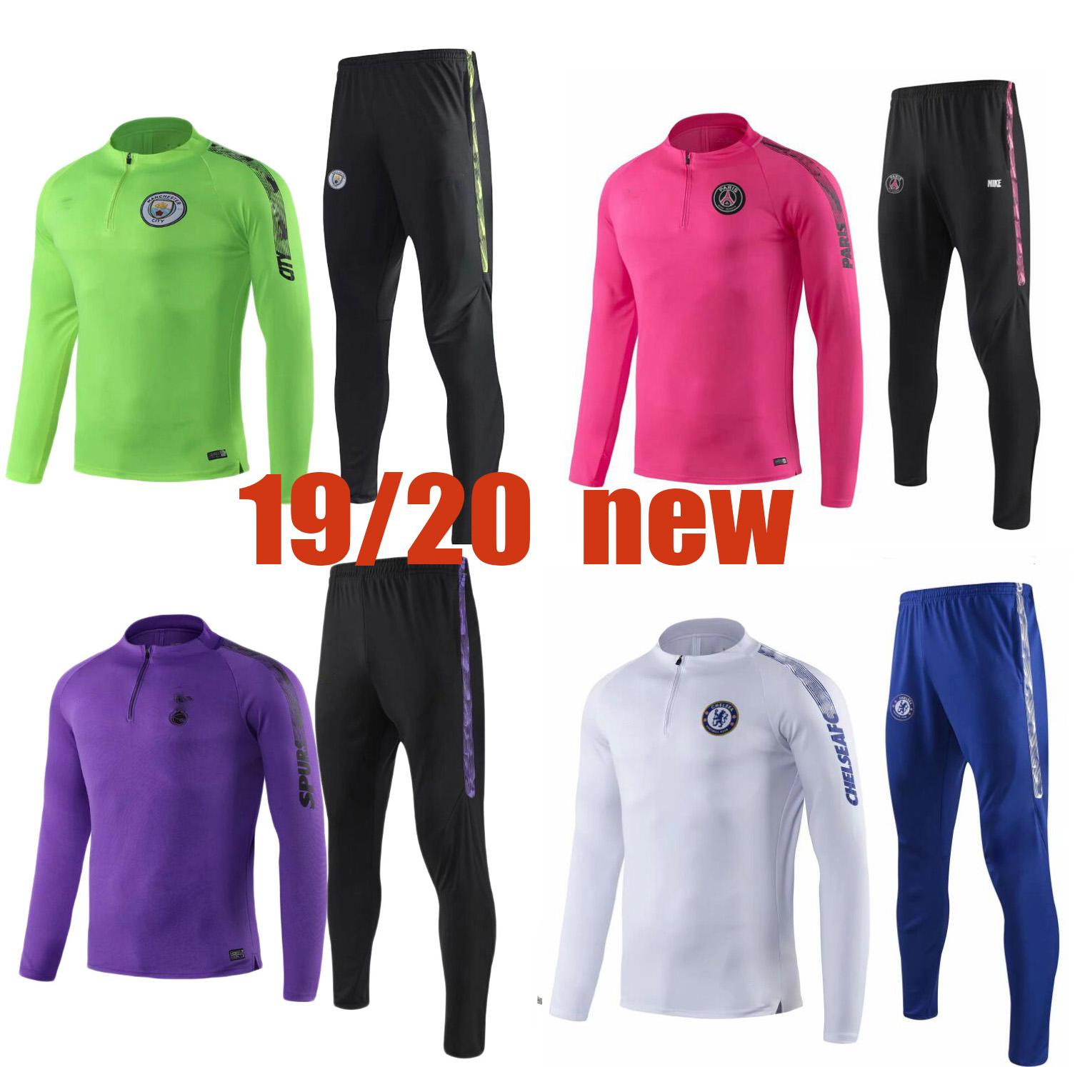56fd3a313ae3b New 2019-2020 Psg Soccer Tracksuit 18 19 20 Mens Chandal Tracksuit Football  Training Suit Survetement Psg Online with  31.96 Piece on Guzhanbiao s  Store ...
