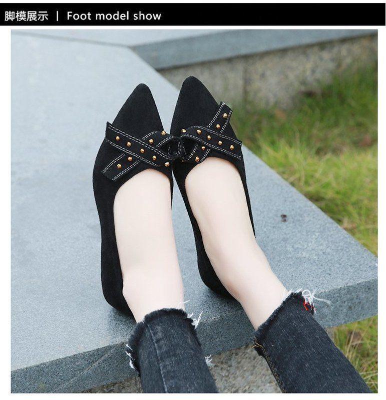 1acf7521f Compre Tosjc 2019 Moda Primavera Mulheres Bombas Sapatos Senhora Sapatos  Casuais Deslizamento Em Loafer Arco Rebite Sapatos De Deals666, $28.53 |  Pt.Dhgate.