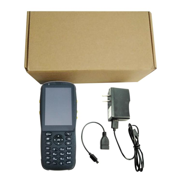 Android Mobile Phone Industrial PDA with Free SDK Barcode Scanner NFC Reader