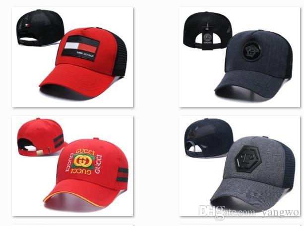 5e1e6565e7f 2019 Spring Sun Visor Hats Fashion Cotton Adjustable Baseball Caps Base  Ball Strapback Mens Trucker Caps Casquette Cap DF5G17 Cap Online Starter Cap  From ...