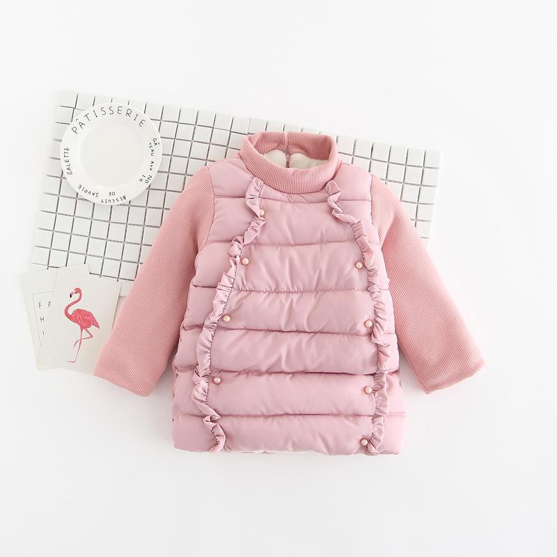83cb52b7c443 Good Quality 2019 New Winter Kid Girl Jacket Kids Cotton Warm Coat ...