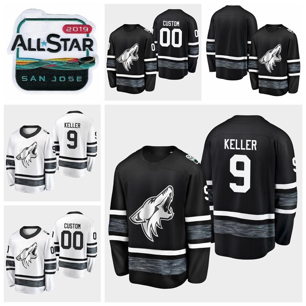 d8c927e1fa2 2019 All Star Game Clayton Keller Customize Arizona Coyotes Hockey ...
