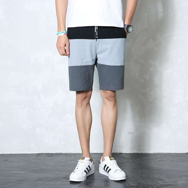 Legible 2019 Summer Short Pants Men Beach Shorts Male Casual Short Patchwork Mens Clothing Men Shorts Pants 4xl