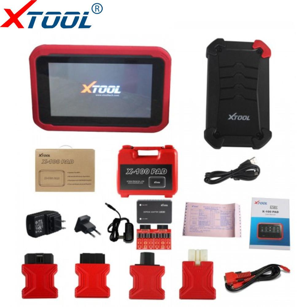 Original XTOOL X100 PAD Professional Auto Key Programmer Code reading X100 Pad With Special Function Free Update Diagnostic Tool
