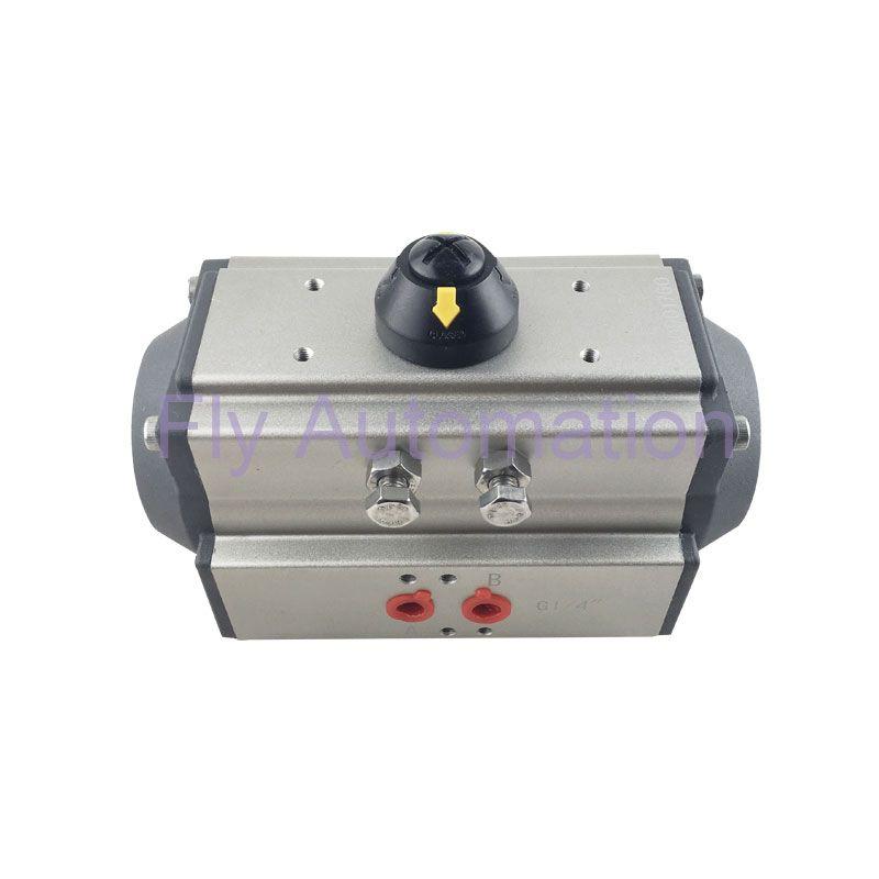 AT75 1/4 1/2 1 1 5 Automotive Auto Parts Double Acting Pneumatic Valve  Actuator